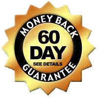Learn about our 60 money back guarantee!